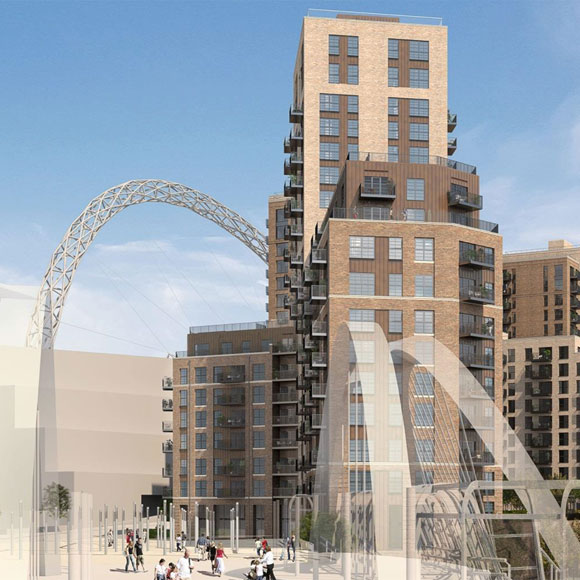 PRS Scheme: South West Lands Wembley Images